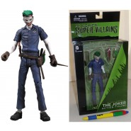 DC COLLECTIBLES Figura Action THE JOKER 17cm Serie SUPER VILLAINS Originale