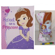 SOFIA LA PRINCIPESSA Coperta 120x150cm ORIGINALE Disney Junior PLAID The First