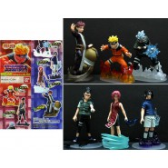 Rare SET 6 FIGURES NARUTO ULTIMATE PART 1 Gashapon BANDAI JAPAN
