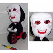 SAW Big PLUSH of BILLY PUPPET with BIKE 35cm Original