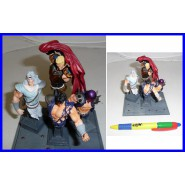 SET 4 Figure Collezione KEN SHIRO BUSTI Kaiyodo JAPAN Trading Figures