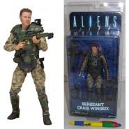 Figura Action SERGENTE CRAIG WINDRIX 18cm Neca ALIEN Serie 2 ORIGINALE Aliens