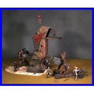Signore Anelli PELENNOR FIELDS Deluxe Version ASSEDIO Playset Figure AOME PLAY ALONG LOTR
