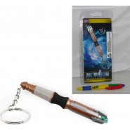 DOCTOR Dr WHO Keyring LED SONIC SCREWDIVER 11th Doctor ORIGINAL