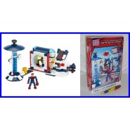 SET Kit UOMO RAGNO Laboratorio Oscorp THE AMAZING SPIDER MAN Nuovo MEGA BLOKS