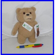 Official TALKING PLUSH 20cm Film TED Bear Movie ORIGINAL PLUSH Green Tag
