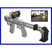 Prezzo Shock FUCILE GIOCO GUNBLASTER per iPHONE 3 4 4s APP GUN AppToyz NUOVO BOX