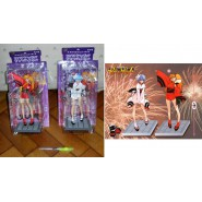 EVANGELION Set 2 FIGURES REI and ASUKA Matsuri NIGHT OF FESTIVAL Sega Japan Prize