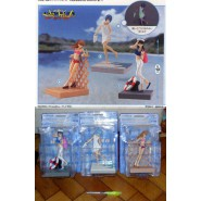 EVANGELION Set 3 Figures REI ASUKA HIKARI Beach SEA FIREFLY Sega JAPAN