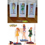 EVANGELION Set 3 Figures ASUKA LANGLEY Collection VOL. 1 Original SEGA Japan