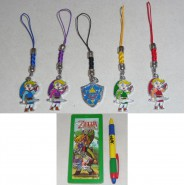 LEGEND OF ZELDA Stupendo SET 5 Diversi LACCETTI Danglers Minish Cap