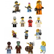 MINI LEGO Figures 8804 SERIE 4 Figura A SCELTA Nuova In Busta