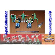 SET 6 Figure POWER RANGERS NINJA STORM PART 2 Maxi Collection BANDAI GASHAPON
