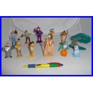 RARO Set 12 Figure POCAHONTAS Large DISNEY Originali PANINI ITALY Figures NUOVE