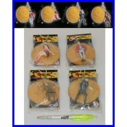Rare FIGURE with Keyring LUPIN III 3rd Gold BIG COIN Original BANPRESTO