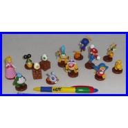 Raro SET COMPLETO 13 Figure Collezione SUPER MARIO BROS Nintendo WII Part 1 - Tipo FURUTA Giappone