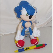Peluche SONIC The HEDGEHOG 20cm con VENTOSA