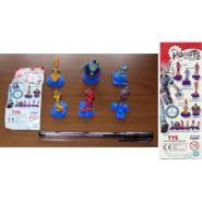 RARO SET 6 Figure Collezione ROBOTS Film Animazione 2005 ORIGINALI Gashapon TOMY