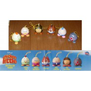 SET 6 Figure CHICKEN LITTLE EGG-STRA FUN Laccetto Dangler ORIGINALI TOMY Disney
