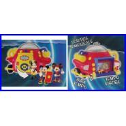 Gadget Topolino TIME MACHINE Macchina Tempo MICKEY Mouse DISNEY PLAYSET ITALY
