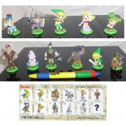 Rare SET 11 Figures Collection THE LEGEND OF ZELDA Furuta JAPAN Original NEW