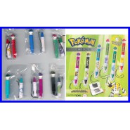 Raro SET 6 Penne POKEMON Touch Pen per NINTENDO DS etc. Laccetto ORIGINALI TOMY
