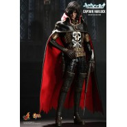 HOT TOYS Figura Action 30cm CAPITAN HARLOCK Space Pirate MMS222 1/6 Captain NEW