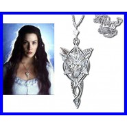 ARWEN 's Evenstar PENDANT Lord Of The Rings OFFICIAL with Gift Box Certificate NEW LINE CINEMA