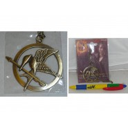 The Hunger Games CIONDOLO Metallo GHIANDAIA IMITATRICE Katniss COLLANA Pendant