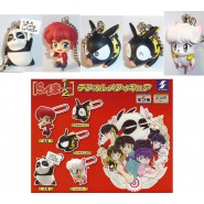 SET 5 Figures RANMA 1/2 Key Dangler DEFORMED Original SK JAPAN