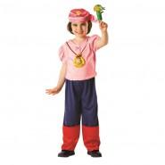 COSTUME Carnevale IZZY PIRATA Bambina RUBIE'S Jake Pirati Isola