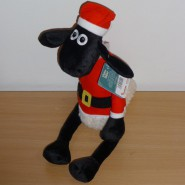 Plush SHAUN THE SHEEP as SANTA CLAUS 35cm ORIGINAL