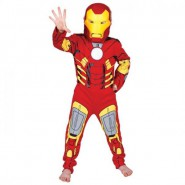 Carnival Dress IRON MAN Boy Child RUBIE'S Rubies MARVEL Avengers WITH MASK