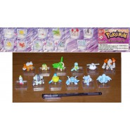 Set 12 FIGURE Collezione POKEMON ADVANCED PART 9 Originali BANDAI Gashapon RARE