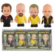 Raro SET 4 Figure Collezione BREAKING BAD Jesse Walter etc. COOKS New TOONSTAR