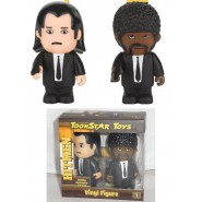 BOX 2 Figure Collezione PULP FICTION John Travolta S. Jackson HITMAN Toonstar