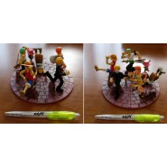 RARO SET 5 Trading Figures ONE PIECE ADVENTURE Diorama BANDAI JAPAN Figure NUOVE