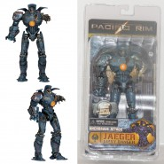 PACIFIC RIM Serie 5 Jaeger GIPSY DANGER ANCHORAGE ATTACK Figura Action 18cm NECA