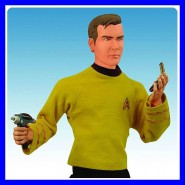 STAR TREK Enorme Figura 50cm CAPITANO KIRK Parlante DIAMOND 1/4 Big RARE Boxed