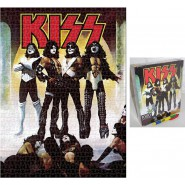 PUZZLE 1000 Pieces 69x51cm KISS Love Gun Band ORIGINAL Official AQUARIUS