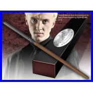 BACCHETTA Magica DRACO MALFOY Originale UFFICIALE Harry Potter NOBLE COLLECTION