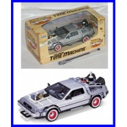 BACK TO THE FUTURE Part 3 Die Cast Model Car DE LOREAN Scale 1/24 Welly