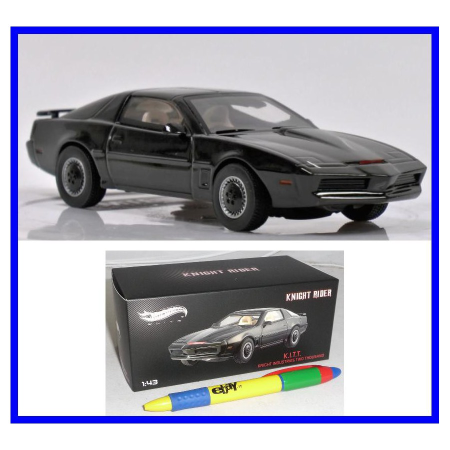 Knigth Rider Model Car K I T T Scale Kitt Hot Wheels Elite