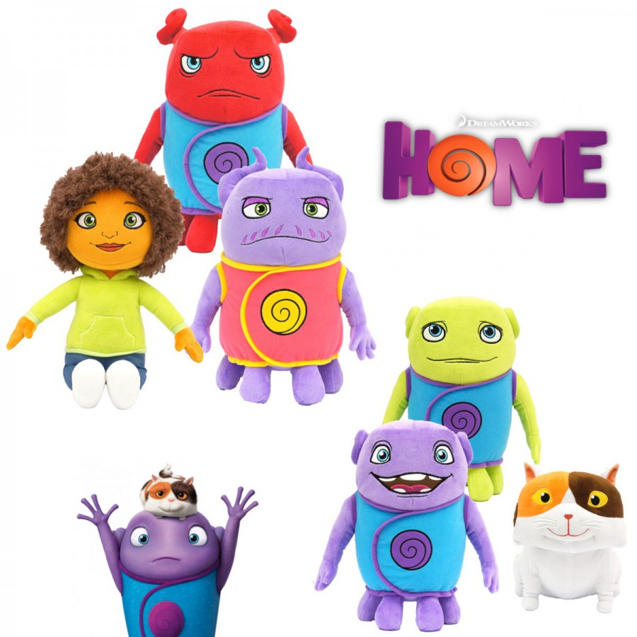Cartone animato home peluche cm originale alieno oh