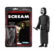 SCREAM Figura Action GHOST FACE 10cm Originale FUNKO ReACTION Figure GHOSTFACE