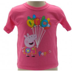 Taglie Palloncini Varie Ufficiale Shirt Pig Peppa T Originale Yb6f7gy