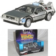 BACK TO THE FUTURE Model Car DELOREAN 1:50 MATTEL Hot Wheels ELITE ONE DieCast BTTF