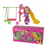 MASHA AND THE BEAR Playset PLAY GARDEN with DOLL 12cm SIMBA
