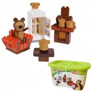 MASHA AND THE BEAR Playset Building Kit MISHA LIVING ROOM PlayBIG Simba