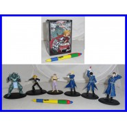 RARO Set 6 Figure FULL METAL ALCHEMIST Edward Alphonse Roy Riza
